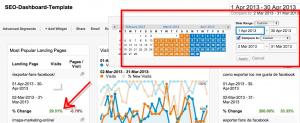 Herramientas de Analítica Web - SEO Dashboard