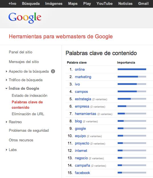 Indexacion semantica - palabras de contenido
