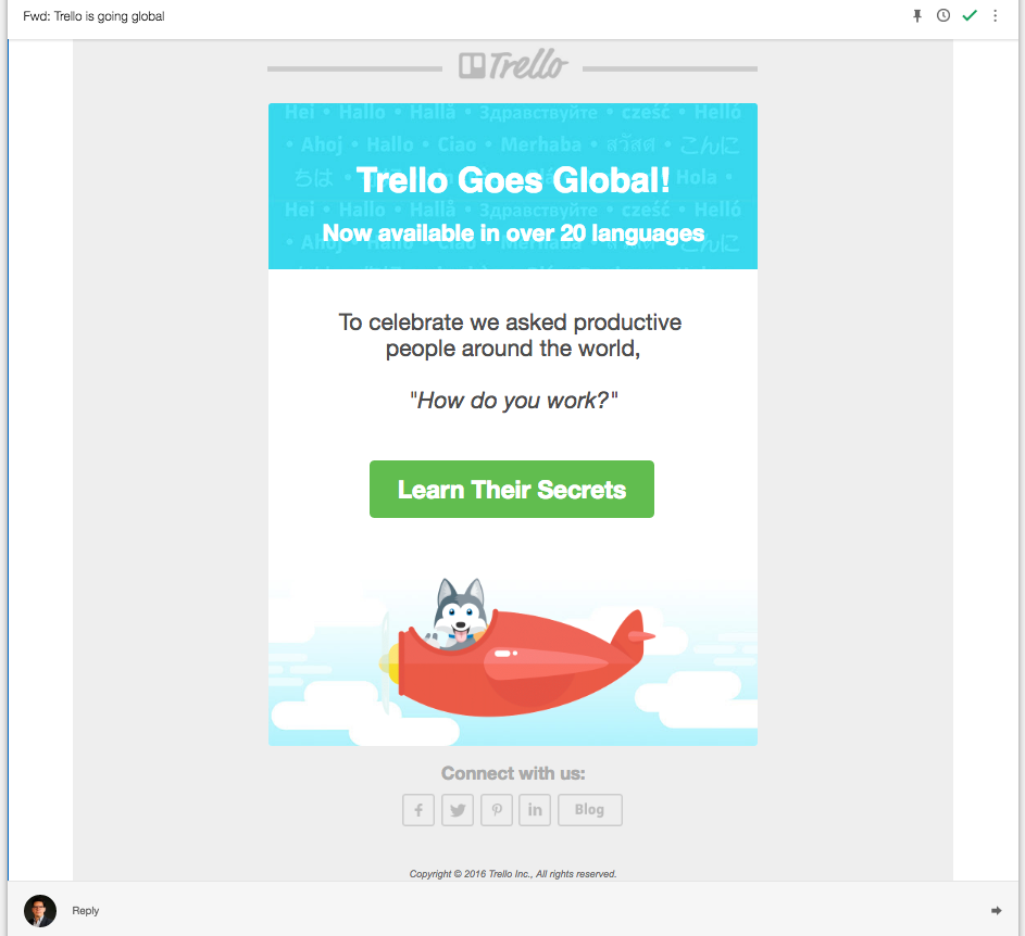 Trello Global - Accion lead nurturing